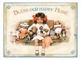 Our Happy Home Impressão giclée por Bessie Pease Gutmann