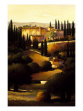 Green Hills of Tuscany I Reproduction giclée Premium par Max Hayslette