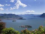 Isola Bella and Isola Madre, Stresa, Lake Maggiore, Piedmont, Italy, Europe Impressão fotográfica por Angelo Cavalli