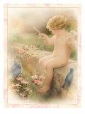 Love's Harmony Giclée-tryk af Bessie Pease Gutmann