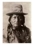Sitting Bull (Tatanka Iyotake) 1831-1890 Teton Sioux Indian Chief Giclée-Druck