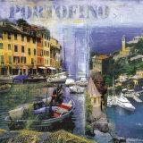 Portofino I Poster by John Clarke