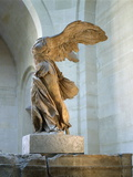 The Winged Victory or Nike of Samothrace Photographic Print