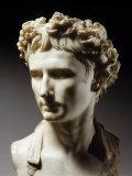 Augustus, 63 BC-14 AD, Roman emperor Stampa fotografica