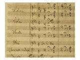 Introduction to the Magic Flute, 1791 Opera by Wolfgang Amadeus Mozart Lámina giclée