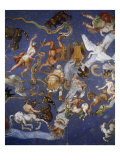 Ceiling from Sala del Mappamondo Fresco by G. De Vecchi and da Reggio Giclee Print