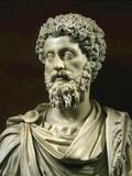 Marcus Aurelius, 121-180, Roman Emperor Stampa fotografica