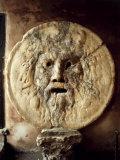 La Bocca della VeritThe Mouth of Truth), Roman Relief of the Face of the Sea God Oceanus Stampa fotografica