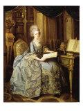 Marie Antoinette, 1755-93 Queen of France, as Dauphine Lámina giclée por Lié-Louis Perin-Salbreux