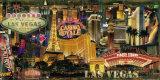 Las Vegas Prints by John Clarke