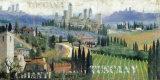 Toscana Kunst af John Clarke