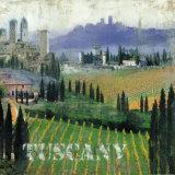 Tuscany II Print by John Clarke