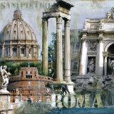 Rome I Print by John Clarke