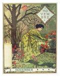 November Giclee Print by Eugene Grasset