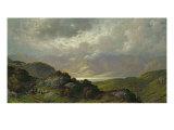 Scottish Landscape Giclee-trykk av Gustave Doré