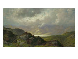 Scottish Landscape Giclee Print by Gustave Doré