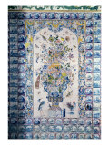 Delft Tile Panel from the Bathroom Giclée-tryk