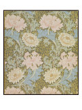 Chrysanthemum' Wallpaper, 1876 Giclée-Druck von William Morris