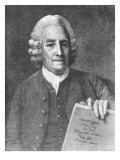 Emanuel Swedenborg Giclee Print by Per Krafft