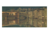 Ponte Vecchio, Florence Giclee Print by William Holman Hunt