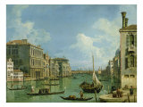 View of the Grand Canal Impressão giclée por  Canaletto