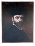 Self Portrait, 1876 Giclée-vedos tekijänä Leon Joseph Florentin Bonnat
