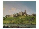 Castelo de Alnwick Impressão giclée por  Canaletto
