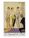 The Judgement of Paris, 1920-30 Reproduction procédé giclée par Georges Barbier