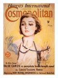 Front Cover of Cosmopolitan Magazine, May 1934 Lámina giclée por Harrison Fisher