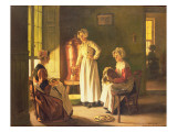 Scullery Maids Giclee Print by Joseph Bail