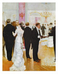 The Wedding Reception, c.1900 Giclee Print by Jean Béraud