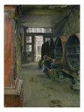 In the Vinegar Factory in Hamburg, 1891 Giclee Print by Gotthardt Johann Kuehl