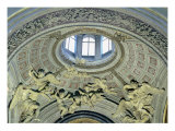 View of the Cupola with Angel Musicians from the Fonseca Chapel Giclée-tryk af Bernini, Giovanni Lorenzo