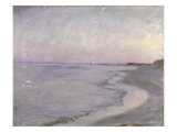 A Coastal Scene Giclee Print by Peder Severin Kröyer