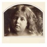 Portrait of a Young Girl Lámina giclée por Julia Margaret Cameron