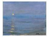 Summer Evening, Skagen, 1908 Giclee Print by Peder Severin Kröyer