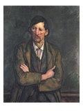 Man with Crossed Arms, c.1899 Giclée-vedos tekijänä Paul Cézanne