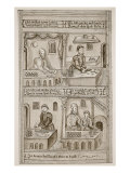 Bakers of York, 1595-1596 Giclée-vedos