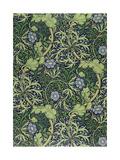 Seaweed Wallpaper Design, printed by John Henry Dearle Giclée-tryk af William Morris