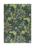 Seaweed Wallpaper Design, printed by John Henry Dearle Giclée-Druck von William Morris