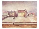 Winter Landscape, 1921 Giclee Print by Alexander Kanoldt