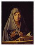 Virgin Annunciate Giclée-tryk af  Antonello da Messina
