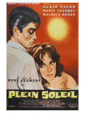 Purple Noon, French Movie Poster, 1964 Prints