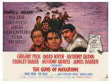 The Guns of Navarone, 1961 Posters