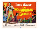 The Barbarian and the Geisha, 1958 Affiches