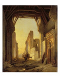 The Gates of El Geber in Morocco Giclee Print by Francois Antoine Bossuet