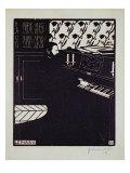 The Piano, 1914 Impressão giclée por Félix Vallotton