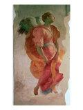 The Annunciation, Detail of an Angel, c.1527 Giclée-vedos tekijänä Jacopo da Carucci Pontormo