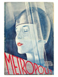 Metropolis, German Movie Poster, 1926 Póster