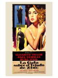 Cat on a Hot Tin Roof, Spanish Movie Poster, 1958 Pôsters